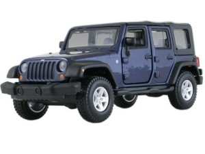 Jeep Wrangler Unlimited Rubicon Bburago 1:32
