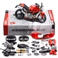39189 Ducati Monster 696 2011 Maisto KIT 1:12