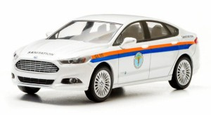 Ford Fusion DSNY 2013 Greenlight 1:43