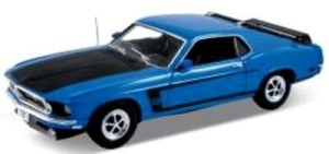 Ford Mustang 1969  Welly 1:18