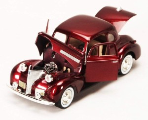 Chevrolet Coupe 1939 Motor Max 1:24