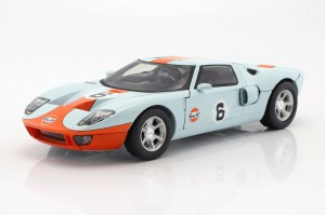 Ford GT Concept #6 2004 Gulf Series Motor Max 1:12