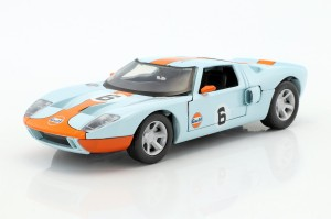 Ford GT Concept #6 2004 Gulf Series Motor Max 1:24