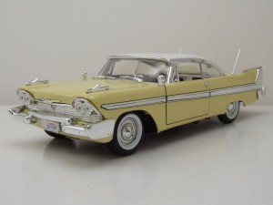 Plymouth Fury Hard Top 1958 Motor Max 1:18