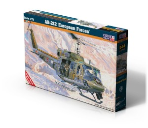 Helikopter AB-212 European Forces MisterCraft 1:72