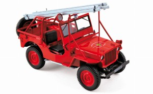 Jeep Willys Fire Department 1988 Norev 1:18