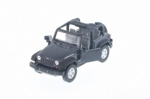 Jeep Wrangler Rubicon Open Top Welly 1:34