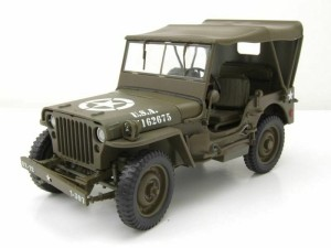 Jeep Willys MB WWII US Military 1941 Welly 1:18