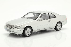 Mercedes-Benz CL600 Coupe S600 C140 1997 Norev 1:18