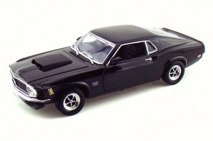 Ford Mustang Boss 429 Coupe 1970 Motor Max 1:18