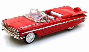 Chevrolet Impala Convertible 1959 Lucky Diecast 1:18