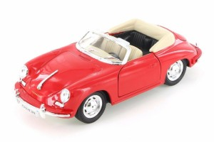 Porsche 356B Convertible Welly 1:24