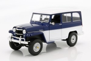 Jeep Willys Station Wagon 1955 Lucky Diecast  1:18