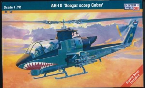 Helikopter AH-1G Soogar scoop Cobra  MisterCraft 1:72
