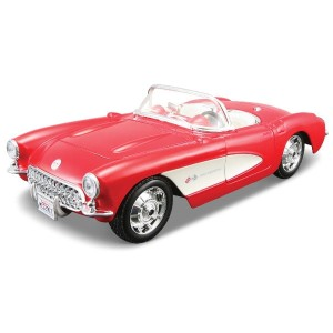 Chevrolet Corvette 1957 Maisto KIT 1:24