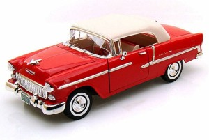 Chevrolet Bel Air Closed Convertible 1955 Motor Max 1:18