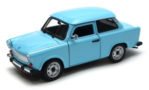 Trabant 601 1965 PRL Welly 1:34