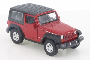 Jeep Wrangler Rubicon Close Top Welly 1:34