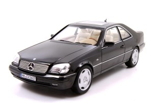 Mercedes-Benz CL600 Coupe C140 1997 Norev 1:18