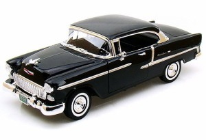 Chevrolet Bel Air Cabriolet Closed 1955 Motor Max 1:18