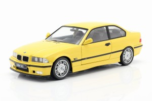 BMW E36 M3 Coupe 3er 1994 Dakar Yellow Solido 1:18