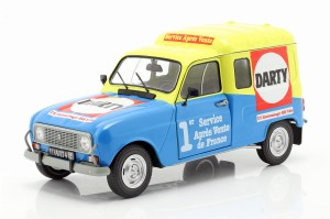 Renault 4 F4 R4F4 4LF4 Darty 1988 Solido 1:18
