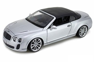Bentley Continental Supers. Convertible Bburago 1:18