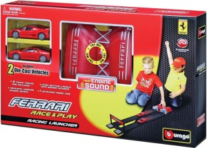 Ferrari Race & Play Racing Launcher Bburago