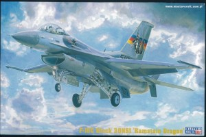 Samolot F-16C Block 30NSI Ramstain Dragon  MisterCraft 1:72
