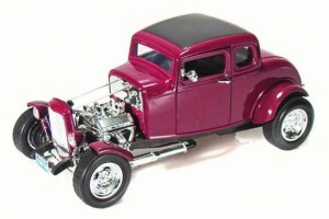 Ford Coupe Hot Rod 1932 Motor Max 1:18