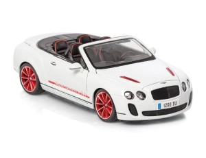 Bentley Continental Supers. Convertible ISR Bburago 1:18