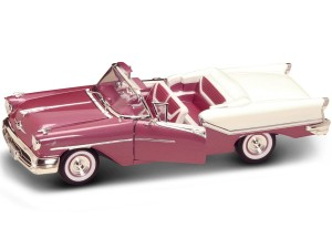 Oldsmobile Super 88 Cabriolet 1957 Lucky Diecast  1:18