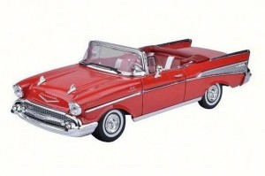 Chevrolet Bel Air Convertible 1957 Motor Max 1:18