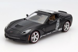 Chevrolet Corvette Stingray Police 2014 Maisto 1:18