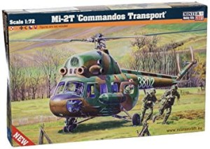 Helikopter Mi-2T Commandos Transport  MisterCraft 1:72