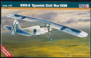 Samolot RWD-8 Spanish Civil War 1936  MisterCraft 1:72
