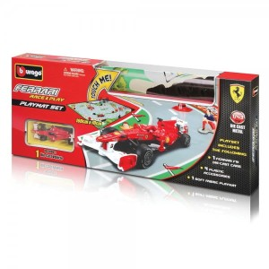 Ferrari Race&Play playmat set Bburago