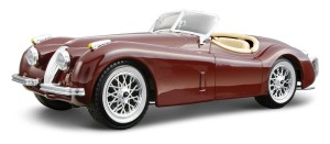 Jaguar XK 120 Roadster 1951 Bburago KIT 1:24