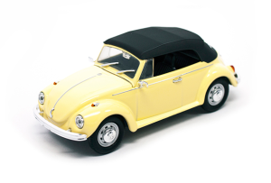 Volkswagen Beetle Closed Top 1972 Lucky Diecast 1:43