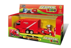 Ferrari Kids Race and Haul Launcher  Bburago