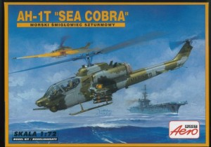 Helikopter AH-1T  'Sea cobra' AeroPlast 1:72