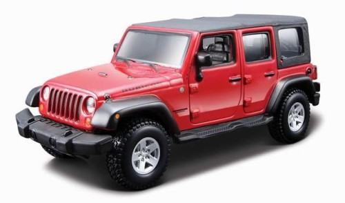 45121 Jeep Wrangler Rubicon Bburago KIT 1:32