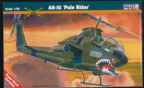 B-02   Helikopter AH-1G Pale Raider MisterCraft 1:72