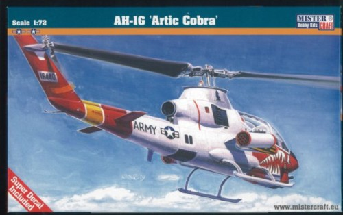 B-01 Helikopter AH-1G Artic Cobra MisterCraft 1:72