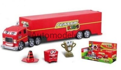 Ferrari Kids Car Delivery Bburago 31277